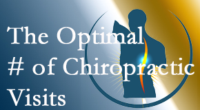 It's up to you and your pain as to how often you see the Buffalo, NY chiropractor.
