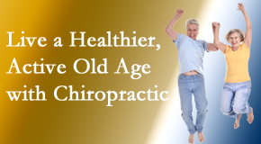 The Novelli Wellness Center welcomes older patients to incorporate chiropractic into their healthcare plan for pain relief and life's fun.