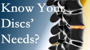Your Buffalo, NY chiropractor knows all about spinal discs and what they need nutritionally. Do you?