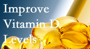 The Novelli Wellness Center explains that it's beneficial to raise vitamin D levels.