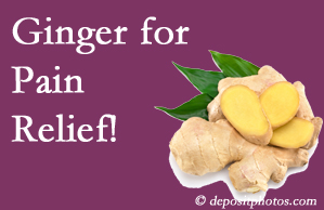 Buffalo, NY chronic pain and osteoarthritis pain patients will want to look in to ginger for its many varied benefits not least of which is pain reduction.