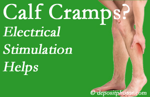 Buffalo, NY calf cramps related to back conditions like spinal stenosis and disc herniation find relief with chiropractic care's electrical stimulation.