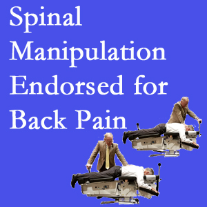 Buffalo, NY chiropractic care involves spinal manipulation, an effective,  non-invasive, non-drug approach to low back pain relief.
