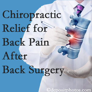 The Novelli Wellness Center offers back pain relief to patients who have already undergone back surgery and still have pain.