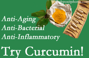 Pain-relieving curcumin may be a good addition to the Buffalo, NY chiropractic treatment plan.