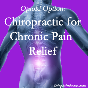 Instead of opioids, Buffalo, NY chiropractic is beneficial for chronic pain management and relief.