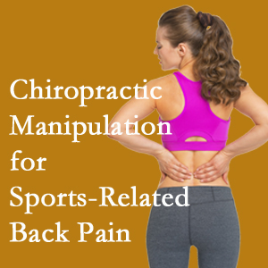 Buffalo, NY chiropractic manipulation care for common sports injuries are recommended by members of the American Medical Society for Sports Medicine.